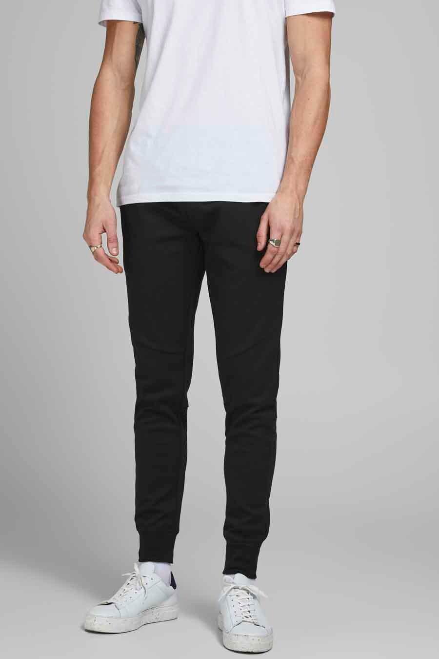 Jack & Jones Jeans Intelligence Jogging, Zwart, Heren, Maat: L/M/S/XL/XS