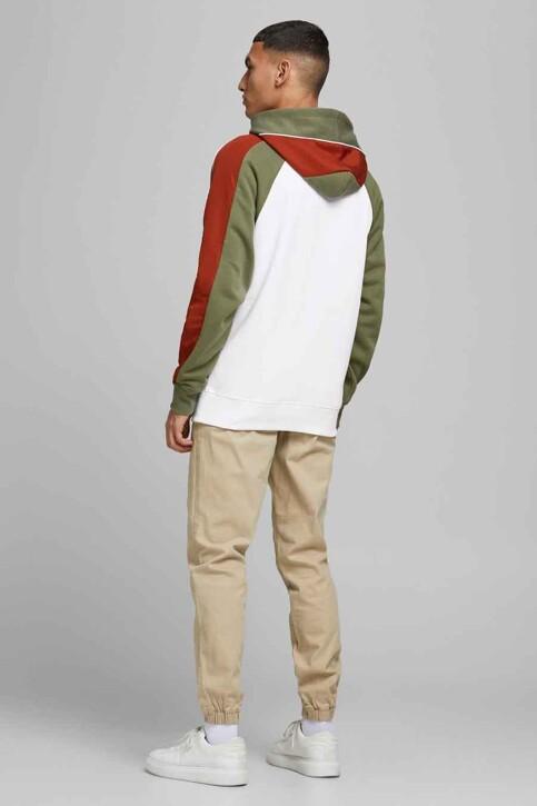 CORE BY JACK & JONES Sweaters met kap wit 12185023_WHITE img2