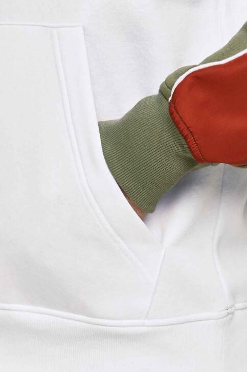 CORE BY JACK & JONES Sweaters met kap wit 12185023_WHITE img3