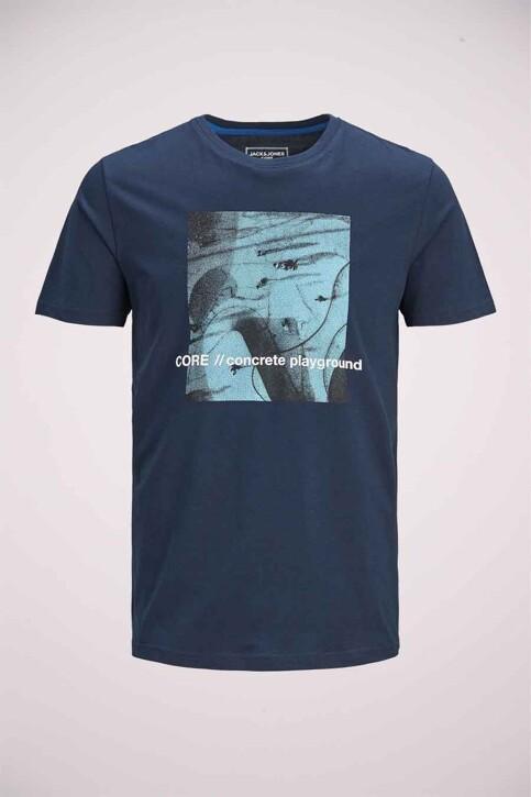 CORE BY JACK & JONES T-shirts (korte mouwen) blauw 12185041_NAVY BLAZER SLI img1