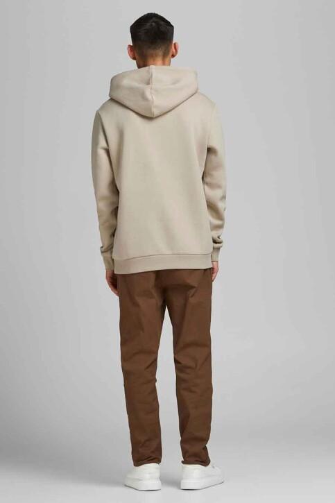 CORE BY JACK & JONES Sweaters met kap grijs 12185092_SILVER BIRCH img3