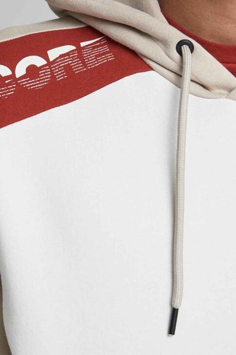 CORE BY JACK & JONES Sweaters met kap grijs 12185092_SILVER BIRCH img5