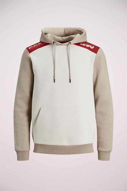 CORE BY JACK & JONES Sweaters met kap grijs 12185092_SILVER BIRCH img7