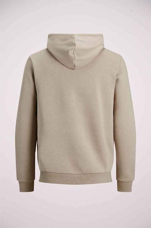 CORE BY JACK & JONES Sweaters met kap grijs 12185092_SILVER BIRCH img8