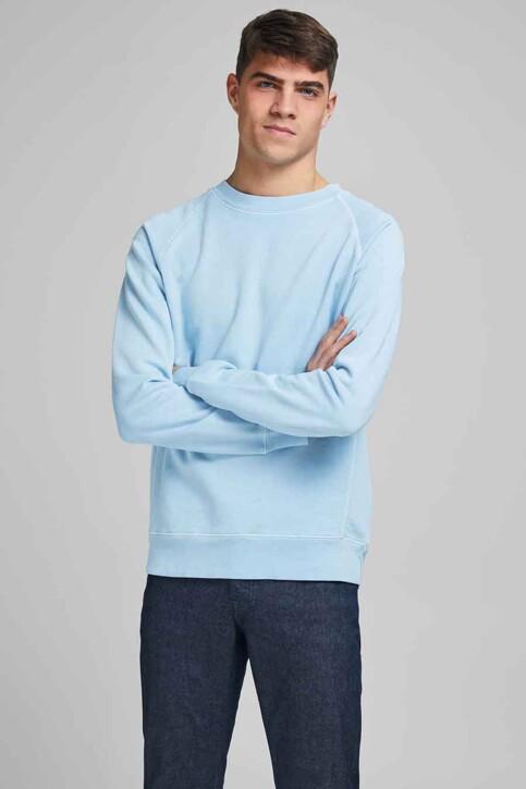 PREMIUM BLUE by JACK & JONES Sweats col O bleu 12185315_DREAM BLUE REG img2