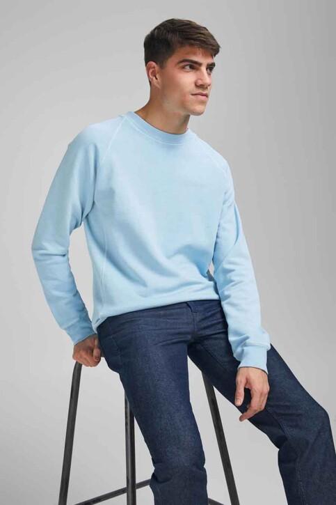 PREMIUM BLUE by JACK & JONES Sweats col O bleu 12185315_DREAM BLUE REG img6