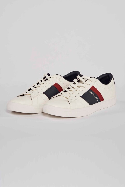 ACCESSORIES BY JACK & JONES Sneakers wit 12185377_WHITE img1