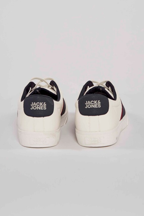 ACCESSORIES BY JACK & JONES Sneakers wit 12185377_WHITE img4