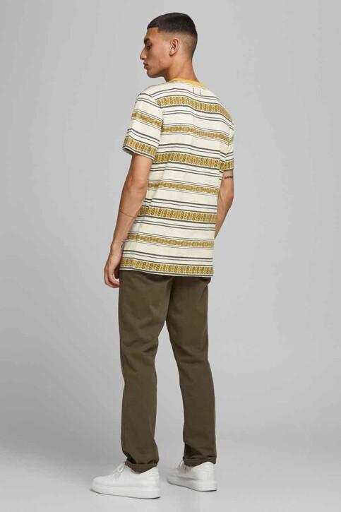 PREMIUM BLUE by JACK & JONES T-shirts (manches courtes) beige 12185416_ECRU REG FIT img2