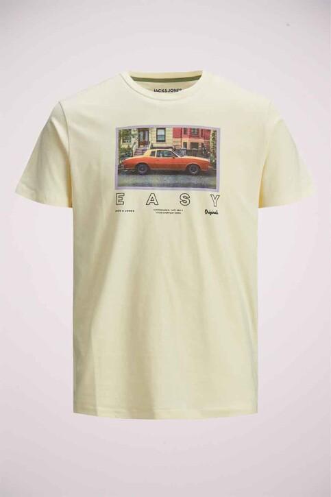 ORIGINALS BY JACK & JONES T-shirts (korte mouwen) grijs 12185706_SEEDPEARL REG img1