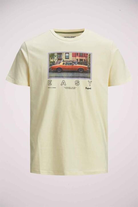 ORIGINALS BY JACK & JONES T-shirts (korte mouwen) grijs 12185706_SEEDPEARL REG img2