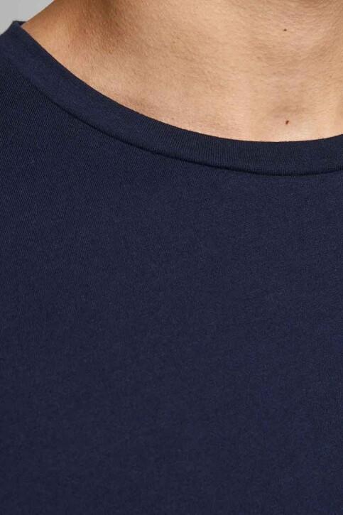ORIGINALS BY JACK & JONES T-shirts (korte mouwen) blauw 12185717_NAVY BLAZER REL img4