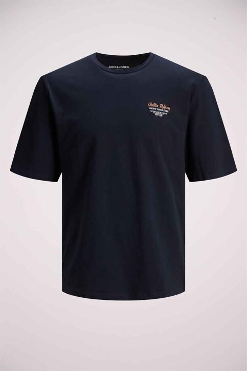 ORIGINALS BY JACK & JONES T-shirts (korte mouwen) blauw 12185717_NAVY BLAZER REL img7