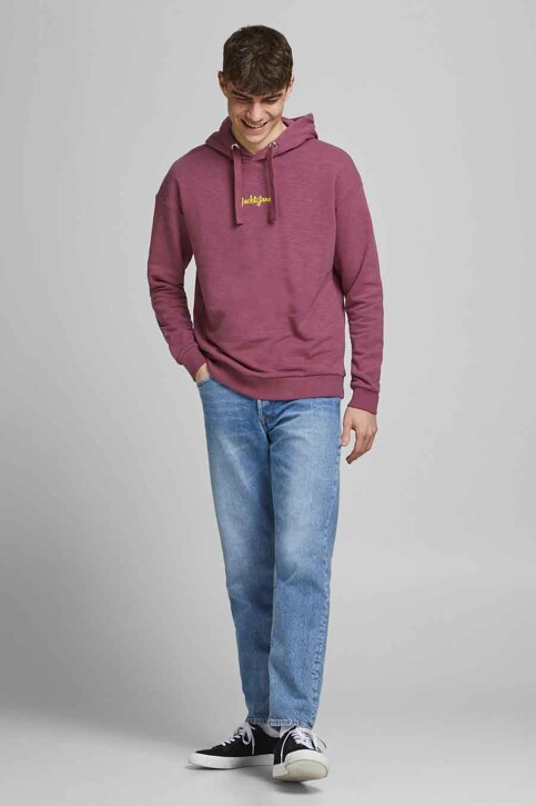ORIGINALS BY JACK & JONES Sweaters met kap roze 12186285_HAWTHORN ROSE R img2