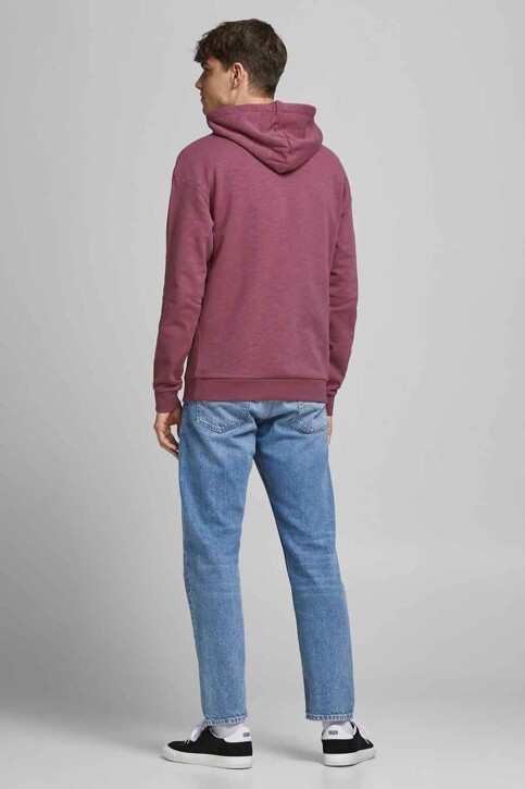 ORIGINALS BY JACK & JONES Sweaters met kap roze 12186285_HAWTHORN ROSE R img3