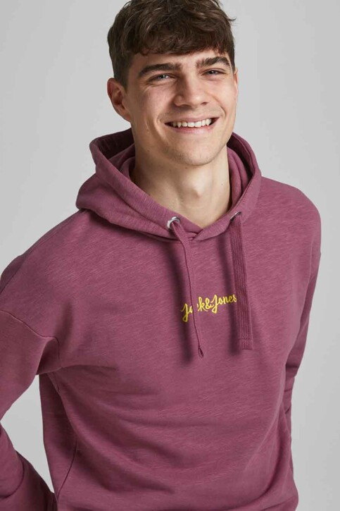 ORIGINALS BY JACK & JONES Sweaters met kap roze 12186285_HAWTHORN ROSE R img4