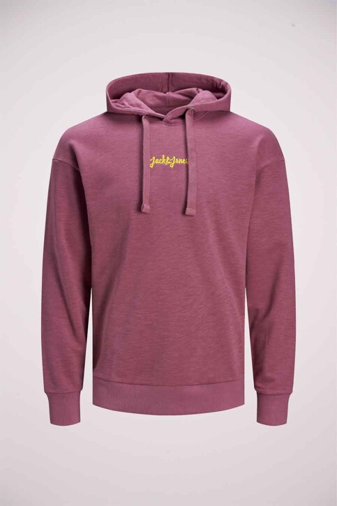 ORIGINALS BY JACK & JONES Sweaters met kap roze 12186285_HAWTHORN ROSE R img5
