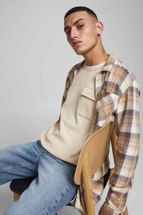 ORIGINALS BY JACK & JONES Sweaters met ronde hals grijs 12186381_SEEDPEARL AMERI img5