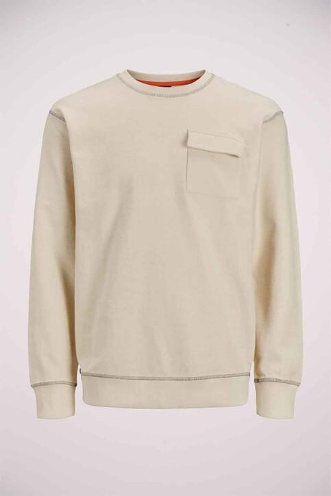 ORIGINALS BY JACK & JONES Sweaters met ronde hals grijs 12186381_SEEDPEARL AMERI img7