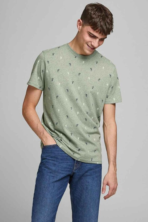 ORIGINALS BY JACK & JONES T-shirts (korte mouwen) blauw 12186780_SEA SPRAY img2