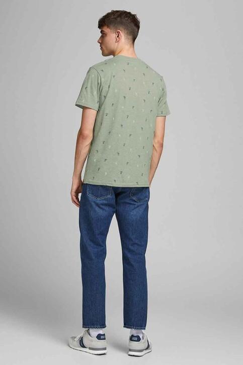 ORIGINALS BY JACK & JONES T-shirts (korte mouwen) blauw 12186780_SEA SPRAY img3
