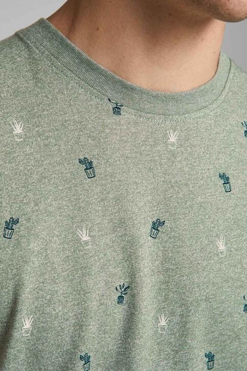 ORIGINALS BY JACK & JONES T-shirts (korte mouwen) blauw 12186780_SEA SPRAY img5