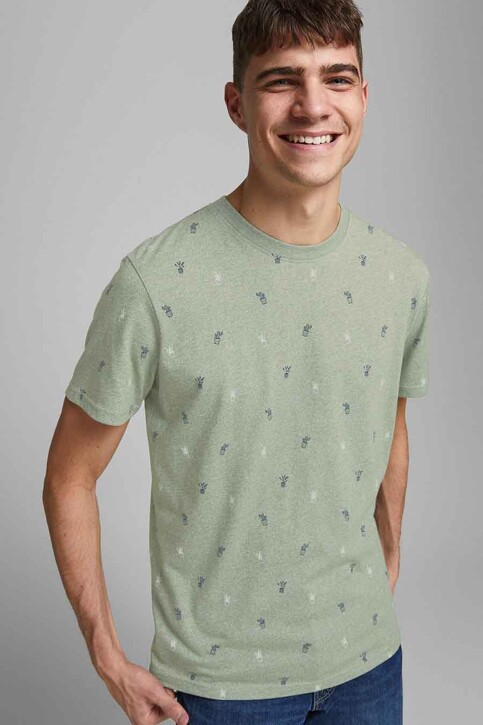 ORIGINALS BY JACK & JONES T-shirts (korte mouwen) blauw 12186780_SEA SPRAY img6