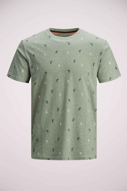 ORIGINALS BY JACK & JONES T-shirts (korte mouwen) blauw 12186780_SEA SPRAY img7