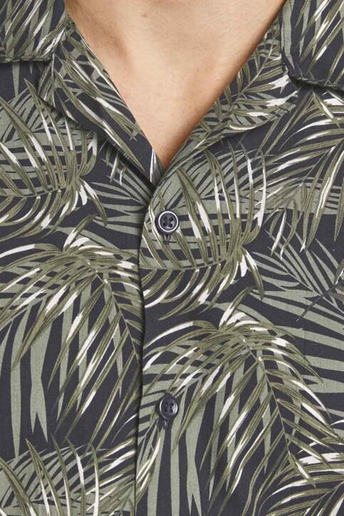 PREMIUM by JACK & JONES Hemden (korte mouwen) zwart 12187823_BLACK RELAX FIT img4