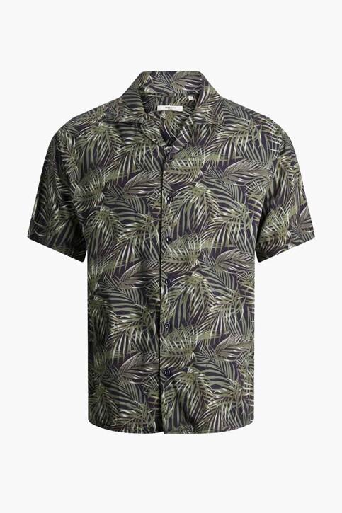 PREMIUM by JACK & JONES Hemden (korte mouwen) zwart 12187823_BLACK RELAX FIT img7