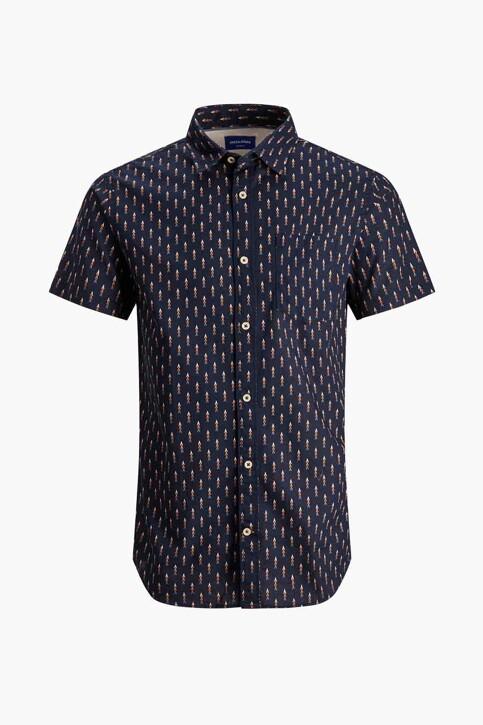 ORIGINALS BY JACK & JONES Hemden (korte mouwen) blauw 12187974_NAVY BLAZER img1