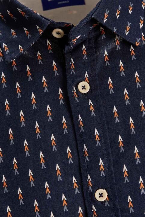 ORIGINALS BY JACK & JONES Hemden (korte mouwen) blauw 12187974_NAVY BLAZER img2