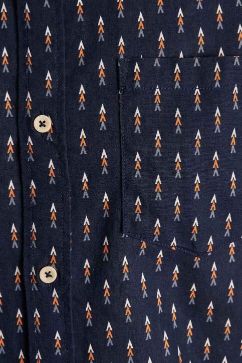 ORIGINALS BY JACK & JONES Hemden (korte mouwen) blauw 12187974_NAVY BLAZER img3