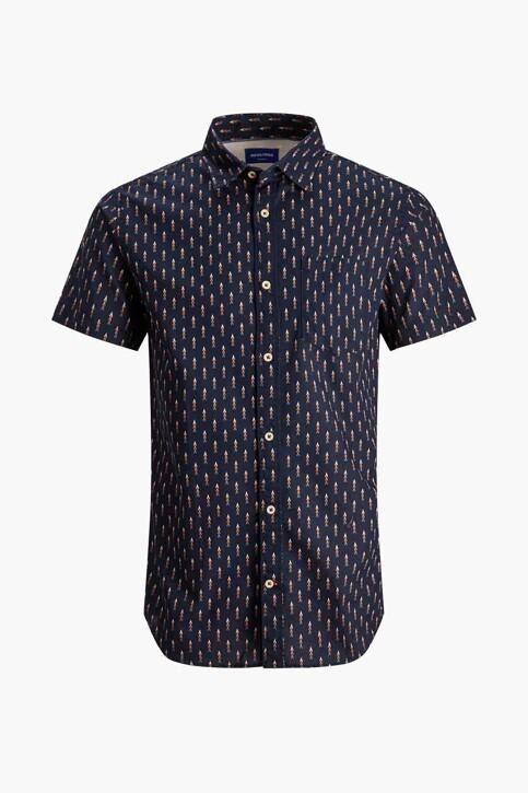ORIGINALS BY JACK & JONES Hemden (korte mouwen) blauw 12187974_NAVY BLAZER img4