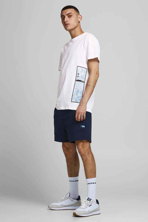 CORE BY JACK & JONES T-shirts (korte mouwen) wit 12188011_WHITE RELAXED img5