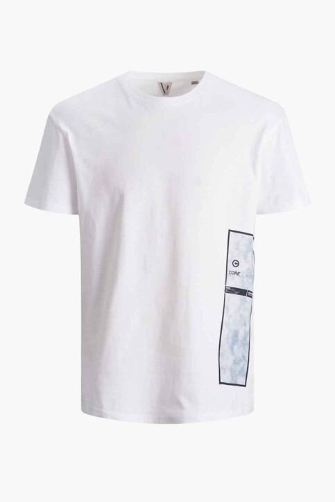 CORE BY JACK & JONES T-shirts (korte mouwen) wit 12188011_WHITE RELAXED img7