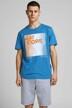 CORE BY JACK & JONES T-shirts (korte mouwen) blauw 12188052_DEEP WATER SLIM img1