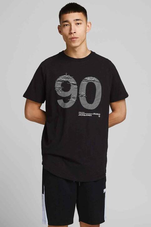 CORE BY JACK & JONES T-shirts (korte mouwen) zwart 12188191_BLACK SLIM img1
