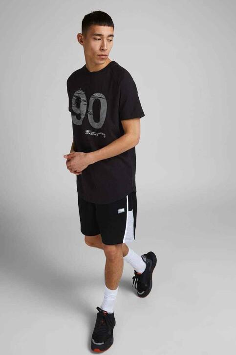 CORE BY JACK & JONES T-shirts (korte mouwen) zwart 12188191_BLACK SLIM img5