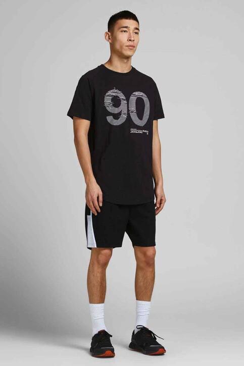 CORE BY JACK & JONES T-shirts (korte mouwen) zwart 12188191_BLACK SLIM img6
