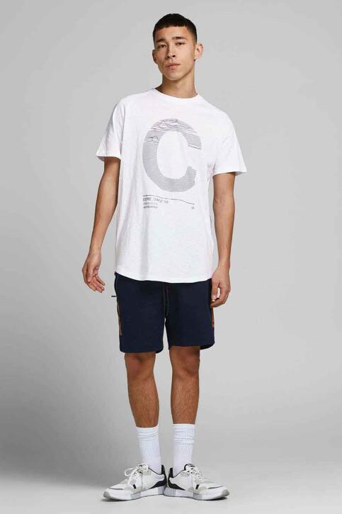 CORE BY JACK & JONES T-shirts (korte mouwen) wit 12188191_WHITE SLIM img6