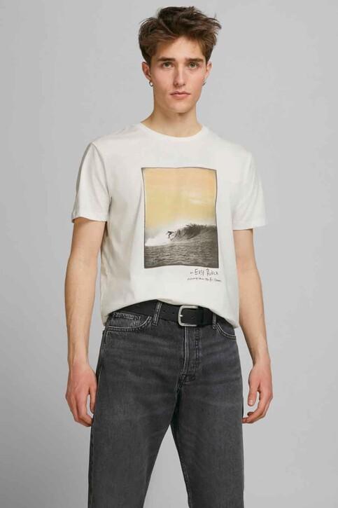ORIGINALS BY JACK & JONES T-shirts (korte mouwen) wit 12188263_CLOUD DANCER RE img1