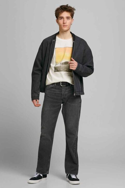 ORIGINALS BY JACK & JONES T-shirts (korte mouwen) wit 12188263_CLOUD DANCER RE img5