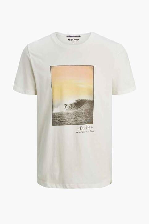 ORIGINALS BY JACK & JONES T-shirts (korte mouwen) wit 12188263_CLOUD DANCER RE img7