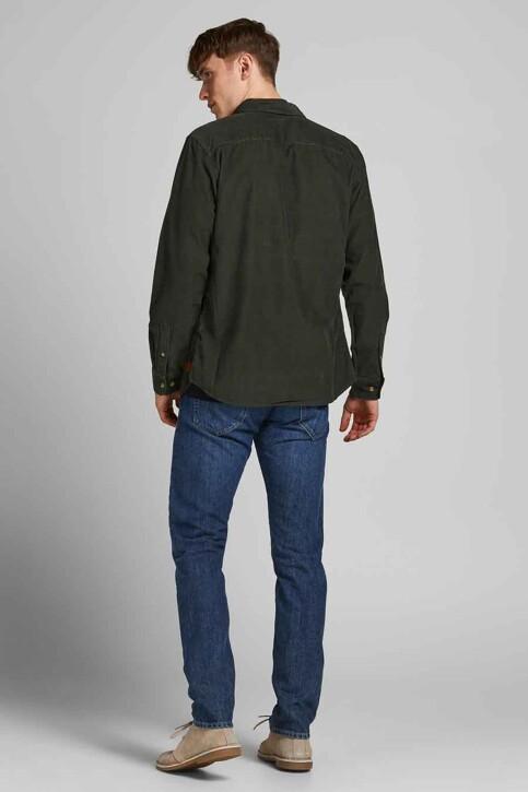ORIGINALS BY JACK & JONES Hemden (lange mouwen) groen 12188929_FOREST NIGHT FI img2