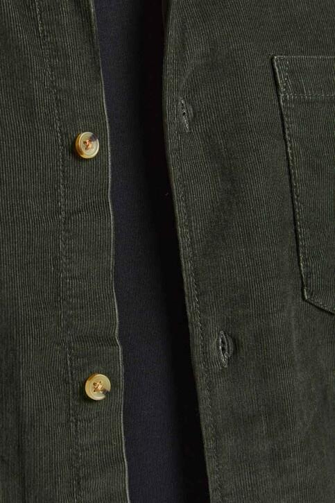 ORIGINALS BY JACK & JONES Hemden (lange mouwen) groen 12188929_FOREST NIGHT FI img3