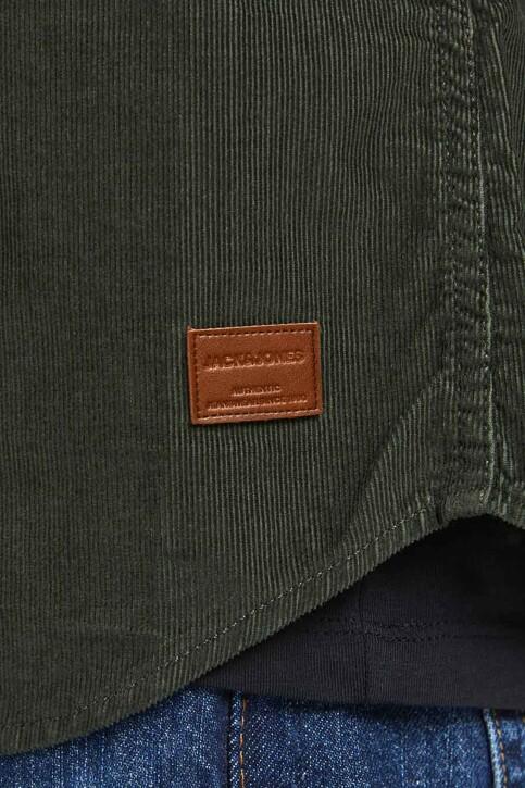 ORIGINALS BY JACK & JONES Hemden (lange mouwen) groen 12188929_FOREST NIGHT FI img4