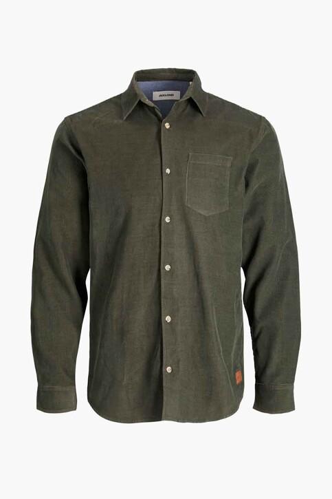 ORIGINALS BY JACK & JONES Hemden (lange mouwen) groen 12188929_FOREST NIGHT FI img7