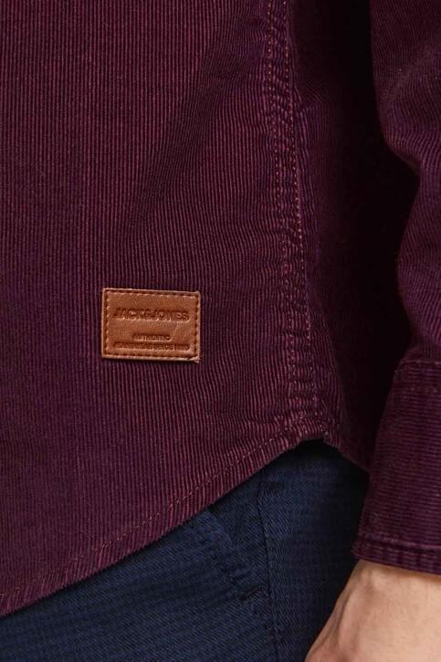 ORIGINALS BY JACK & JONES Hemden (lange mouwen) bordeaux 12188929_PORT ROYALE FIT img4