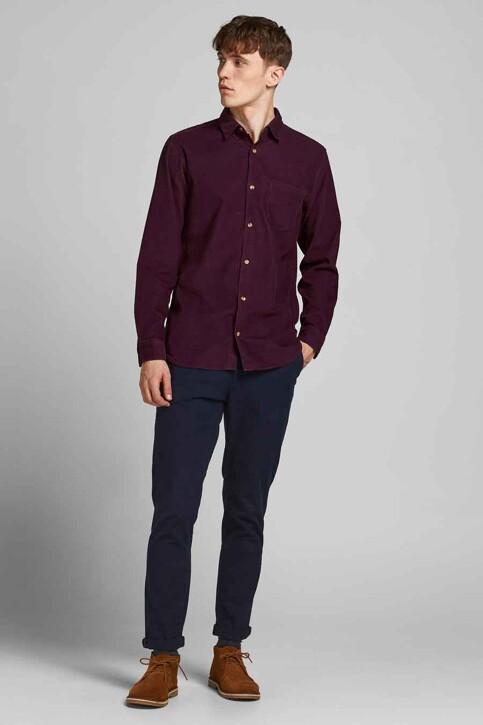 ORIGINALS BY JACK & JONES Hemden (lange mouwen) bordeaux 12188929_PORT ROYALE FIT img6